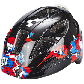 Cube Lume Helm Juniors black grafitti